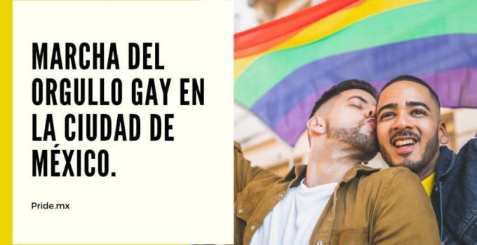 Día del orgullo gay en la Ciudad de México.