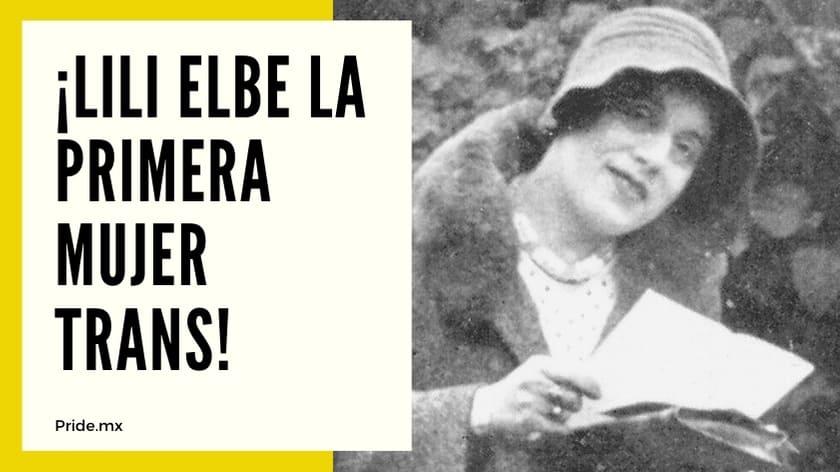 Hablemos de historia ¡Lili Elbe la primera mujer trans1