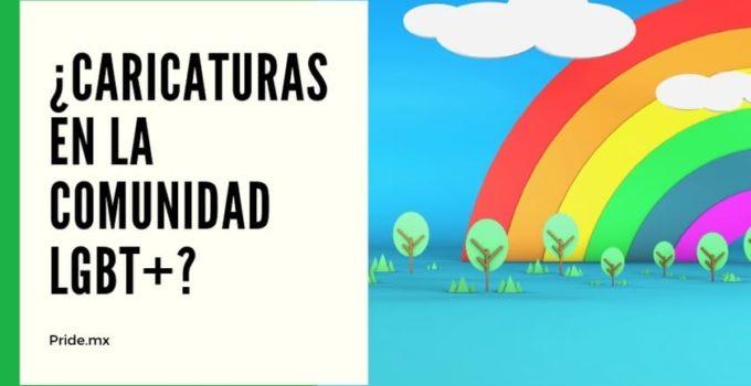 Personajes de caricaturas y TV en la comunidad LGBT+