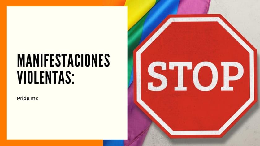 No a la violencia entre la comunidad LGBT4