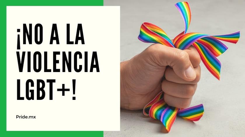 No a la violencia entre la comunidad LGBT5
