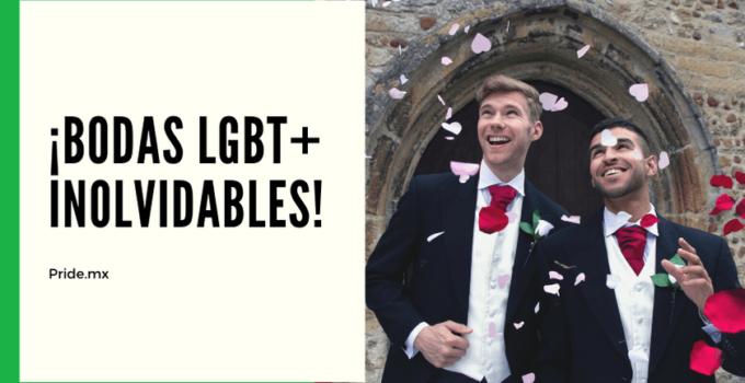 Bodas LGBT inolvidables